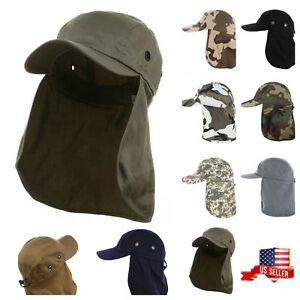 51e375074a0 Image is loading Baseball-Cap-Neck-Cover-Hiking-Fishing-Hunting-Gardening-