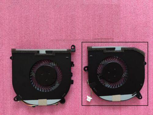 New for Dell XPS 15 9560 series Laptop cooling right Side fan 0TK9J1 TK9J1 4-pin