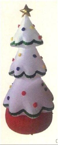 CHRISTMAS SANTA WHITE CHRISTMAS TREE  HUGE 20 FEET TALL  AIRBLOWN INFLATABLE