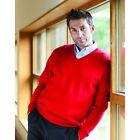 Henbury Homme Décontracté Habillé Calibre 12 tricoté Pull col V HB720 Taille