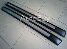 TOYOTA HILUX REVO 2015 2016 Smart Cab Silver Line Roof Rail Bar Rack NO DRILLING