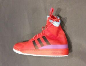 Adidas-FORUM-WINTER-PK-Basketball-Shoes-Red-Mens-SZ-8