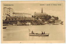 Cathedral and Palace in Sandomierz, Poland, 1910s