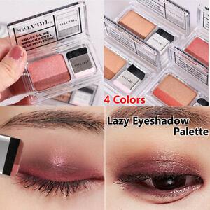 Double-Color-Gradient-Glitter-Women-Makeup-Cosmetic-Lazy-Eyeshadow-Eye-Shadow