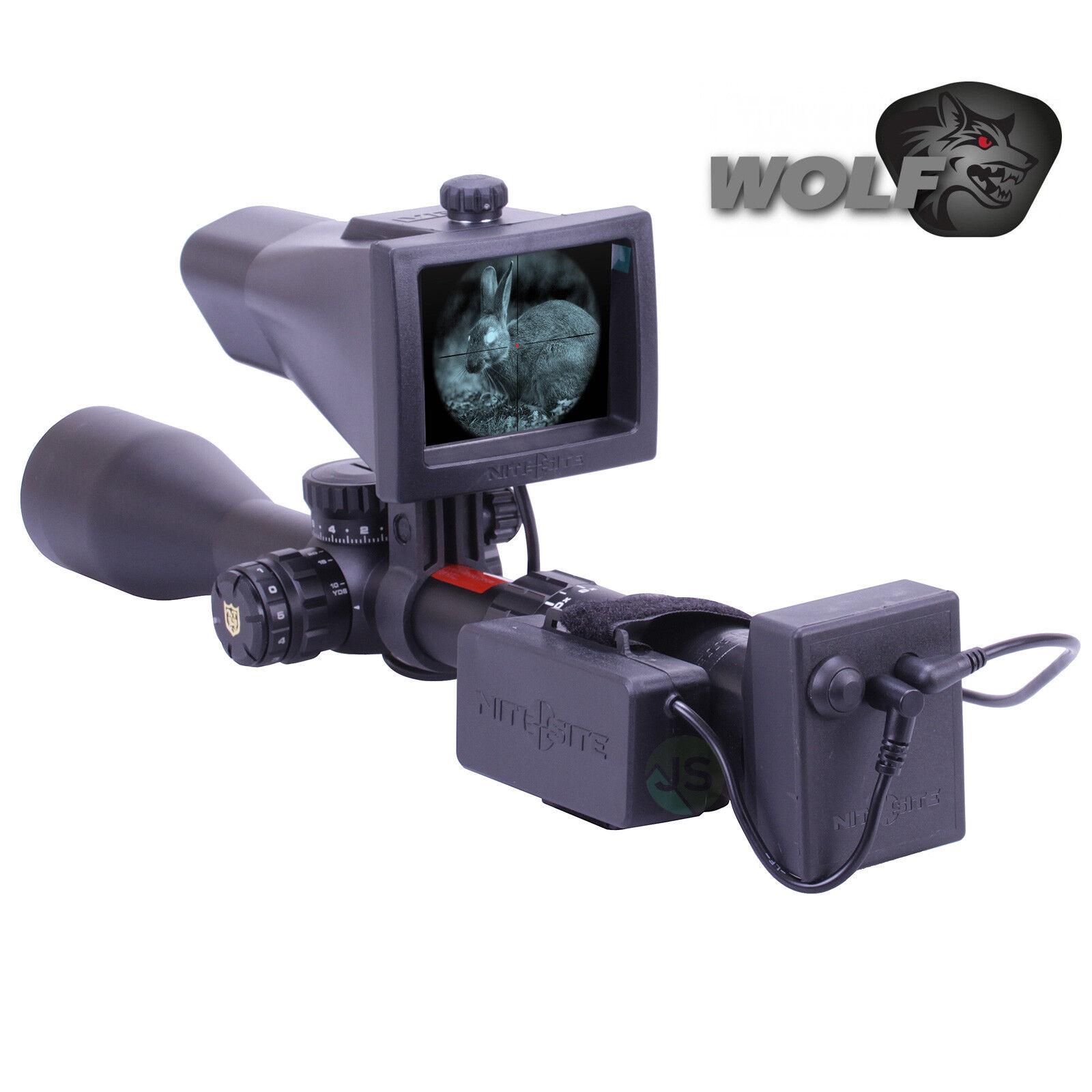 Nite Site NiteSite Wolf Night Vision NV Conversion Kit Scope Mounted 300 Metres