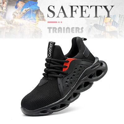 Arbeitsschuhe Sicherheitsschuhe Mit Stahlkappe S3 Schutz Rutschfest Atmungsaktiv