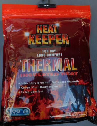 Heat Keeper Thermo Herren Unterhemd Schwarz TOG Rating 0,46 Größe M