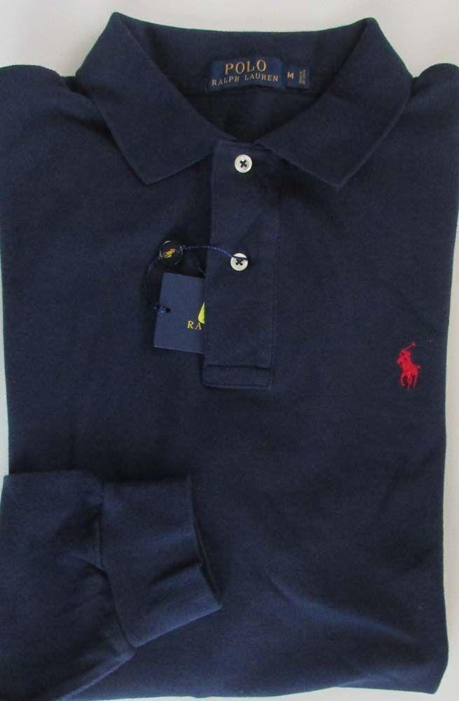 NWT Polo Ralph Lauren Mesh Polo Shirt Classic Fit Navy Sizes XLT 3XLT