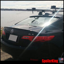 COMBO Rear Roof Wing & Trunk Lip Spoiler (Fits: Acura ILX 2013-15)
