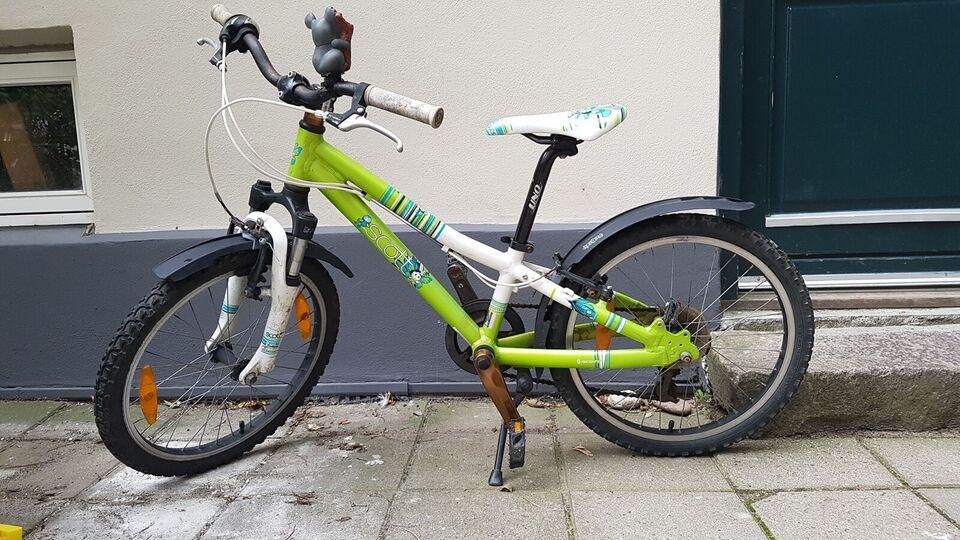 Pigecykel, mountainbike, Scott