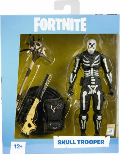 McFarlane Toys FORTNITE SKULL TROOPER 7in Action Figure NEW In Stock