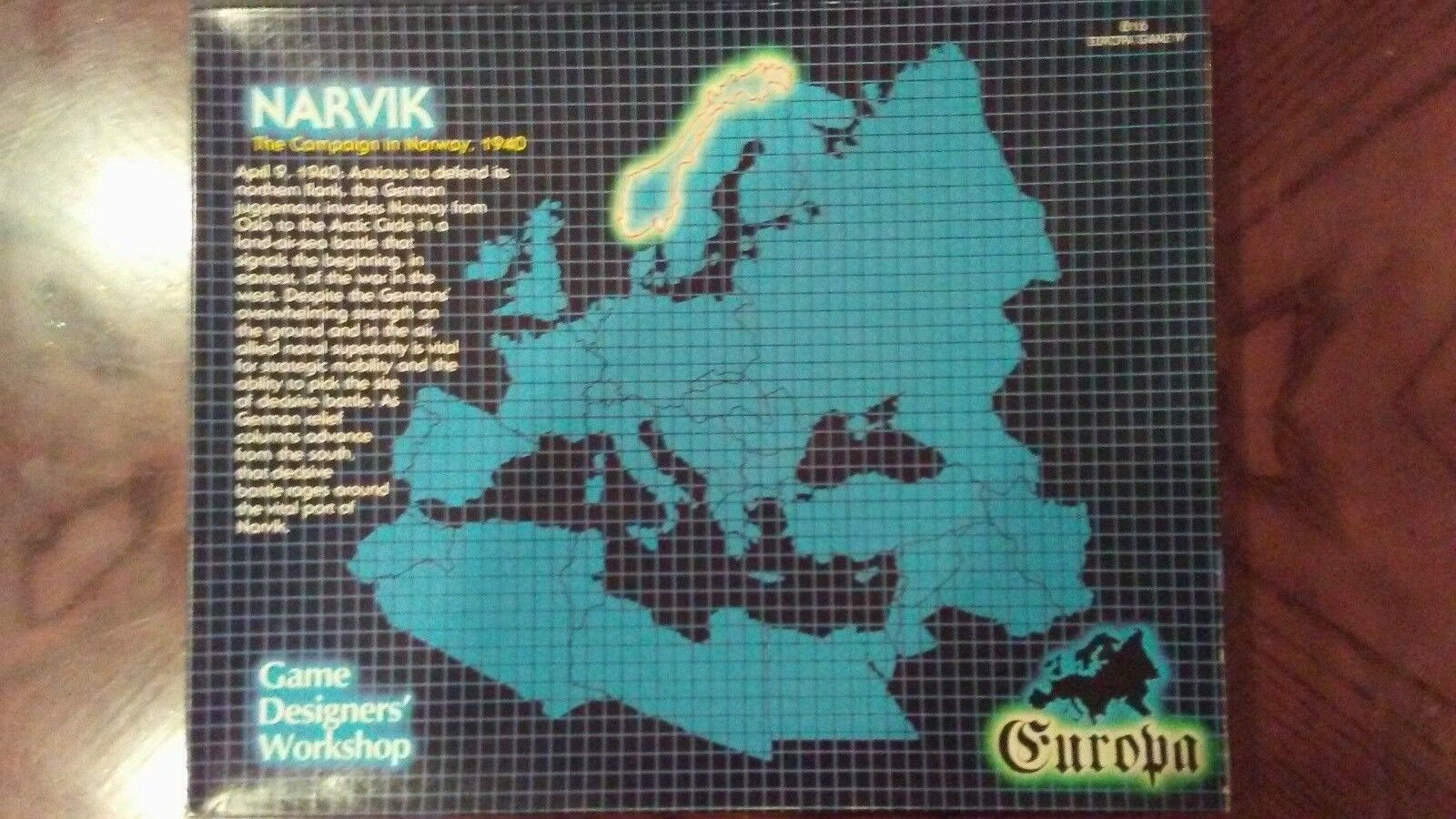 Europa Series.  Narvik.  Unpunched.