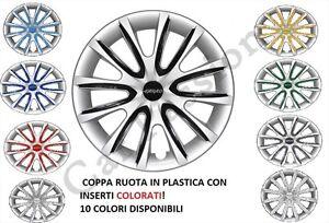 Coupes universelles Fiat 4 Set Punto color 1999 Copricerchi de roue qgPXWw86