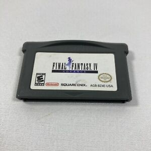 Final Fantasy IV Advance GBA Game Boy Advance Authentic Tested Working