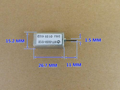 1pcs WFF-050SH-10130 DC12V 18900RPM Large Torque Magnetic Metal Brus DC Motor