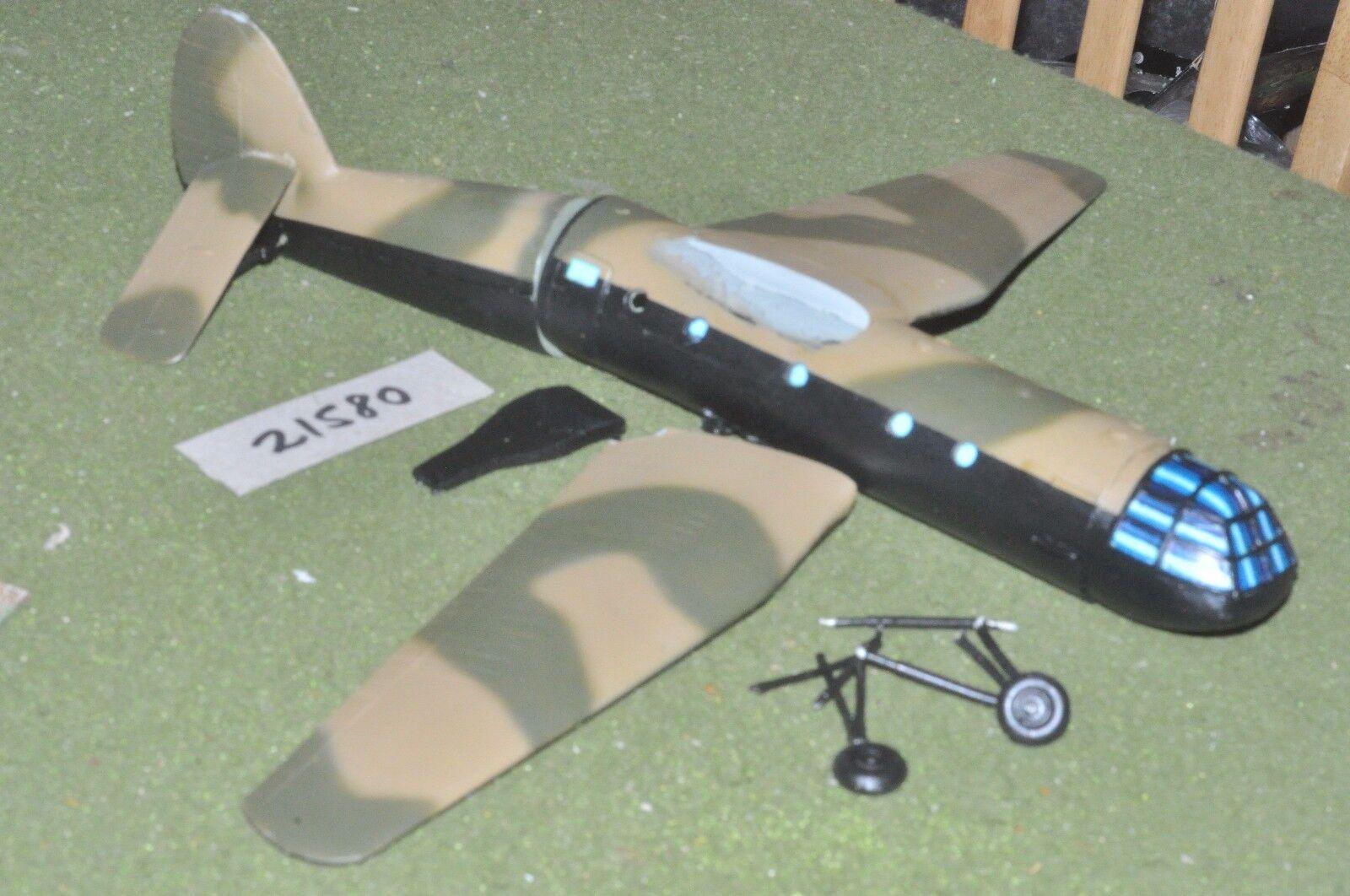 20mm WW2   british - 1 crashed glider vehicle world war 2 - vehicles (21580)