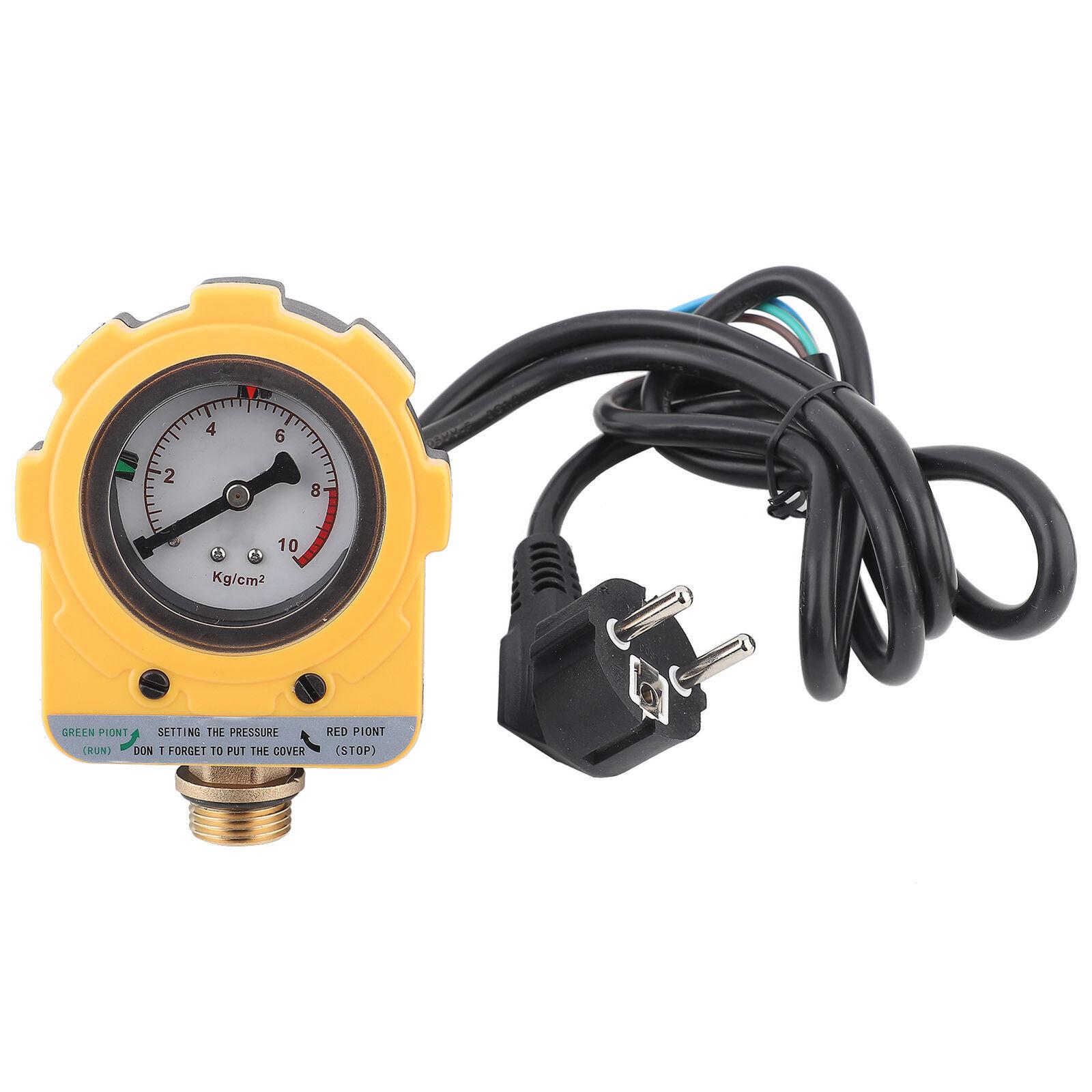 220V 10 Bar Pressure Controller Unit Electronic Switch for Water Pump (EU plug)