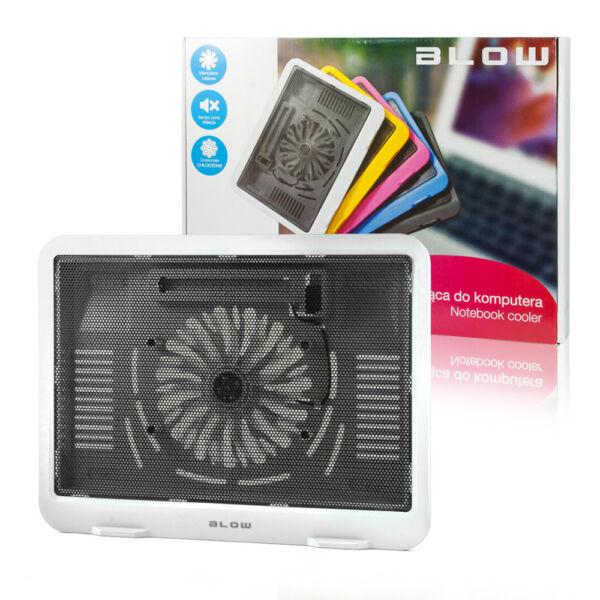 Blow Notebook Laptop Kühler In Weiß Mit Usb Hub Lüfter Kühlpad 9-14 Zoll Cooler Goed Verkopen Over De Hele Wereld