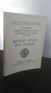 Catalogue Vendita Oeuvres Arte Delle Chiese Museo Dijon 52 Tavole H. Testo 1975