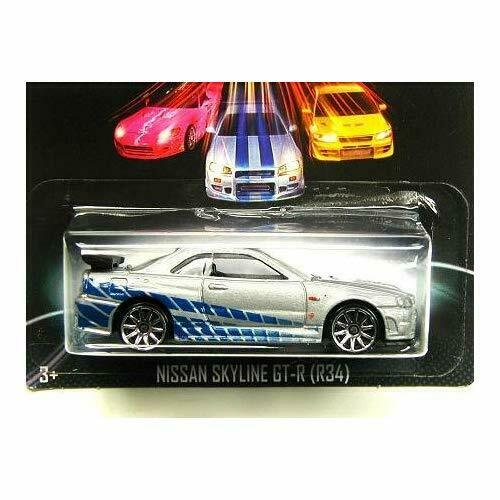 [2013] Hot Wheels Fast And The Furious   3 8 Nissan Skyline Gt-R (R34) Parall