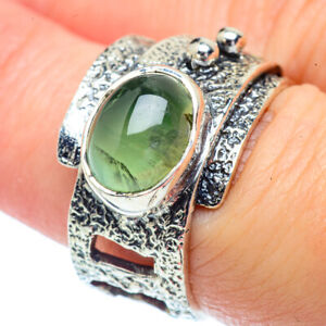 Prehnite-925-Sterling-Silver-Ring-Size-7-25-Ana-Co-Jewelry-R38520F