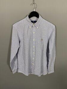 RALPH-LAUREN-Shirt-Medium-Check-Great-Condition-Men-s
