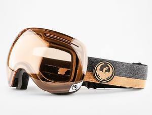 NEW Dragon X1 Goggles-Flux Brown-Transitions Amber Lens-SAME DAY SHIPPING    no minimum