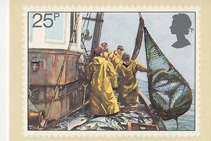 GREAT BRITAIN - FISHING - PHQ55(d) - 1981