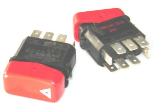 24V// 8-Pin pf.MB Actros-Atego-Axor-Unimog-SK flasher hazard Warnblinkschalter