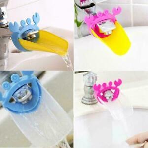 Wasserhahn-Extender-fuer-Kinder-Kleinkind-Kinder-Handwaschbecken-F2Y9-Badezi-W2U9