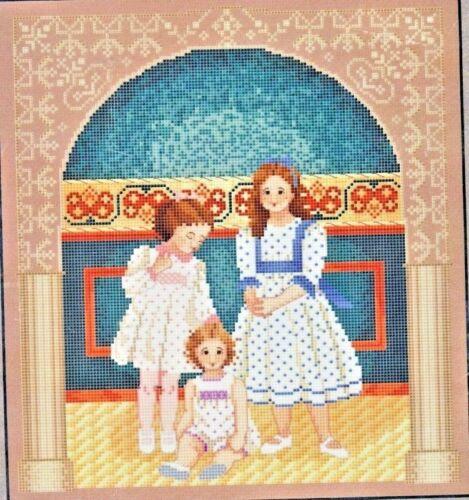 SISTERS from WHISPERED BY THE WIND to CROSS STITCH by MARI MCDONALD