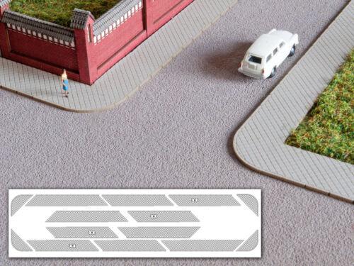 Gehwegplatten 900mm Spur N MU N-L00071 NEU