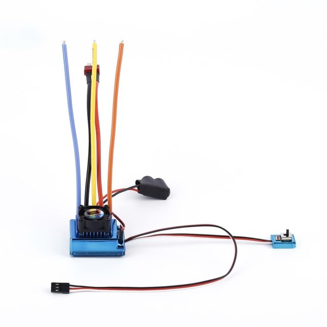 120A ESC Sensored Brushless Speed Controller For 1/8 1/10 Car/Truck Crawler#1