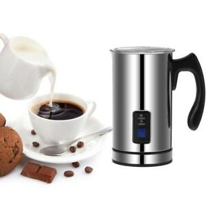 Electric Automatic Milk Frother Foamer Warmer Heater Coffee Cuccino Latte
