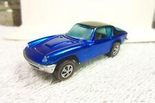 Hot Wheels Redline 1969 Blue/Black top Maserati Mistral - Restored