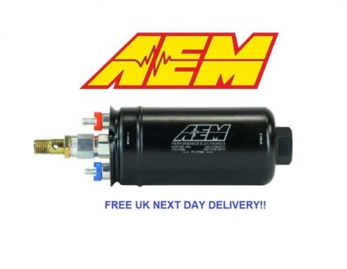 AEM 400LPH Metric Inline High Flow Fuel Pump *BRAND NEW GENUINE* P//N # 50-1009