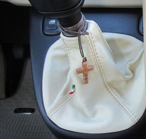 Schaltsack Fiat Panda 319 von 2012 auf Erstellt Echtes Leder