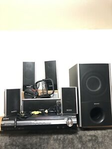 Sony-Home-Theater-System-DAV-HDX275-5-1-Dolby-5-Speakers-Subwoofer-Extras