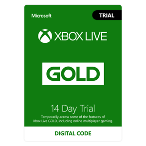 Xbox-Live-14-Day-2-weeks-Gold-Membership-Trial-Code-FAST-EMAIL-DELIVERY
