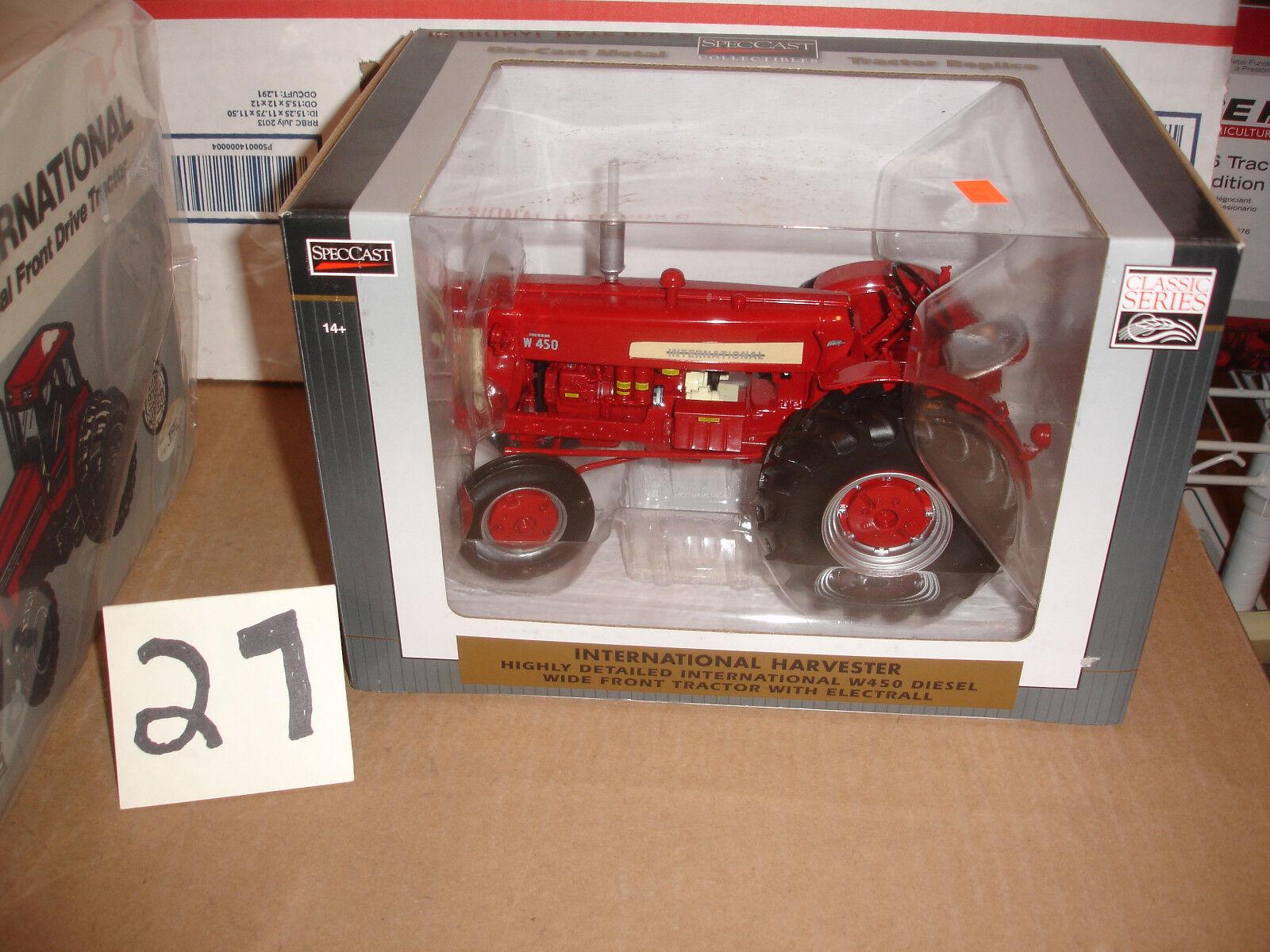 1 16 International Harvester w-450 jouet tracteur