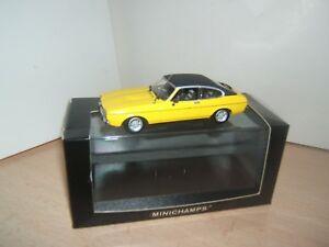 Ford Capri 2,8 L Gt 1974-1977 Minichamps 1/43