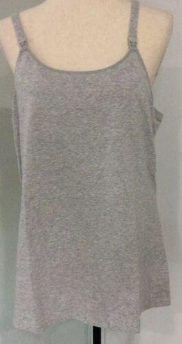 Women/'s Gilligan /& O/'malley Night Nursing Cami Gray size XXL New $19.99