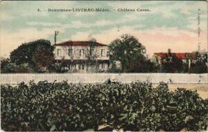 CPA Donnissan-Listrac-Médoc - Chateau casse (140009)