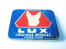 Grammophon NADELDOSE LUX - MIT NADELN ! gramophone needle tin