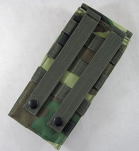 New Airsoft Tactical Molle Utility Mag Walkie Pouch Flap Hook/&Loop Closures