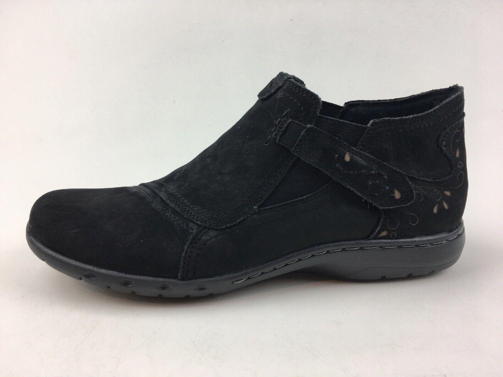 Cobb Hill Damen Padma Stiefel Größe 8 n, Schwarzes Leder 2059