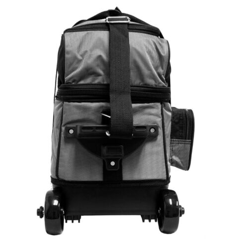KAZE SPORTS 1 One Single Bowling Ball Roller Tote Bag Joey Spare Add-On = 2