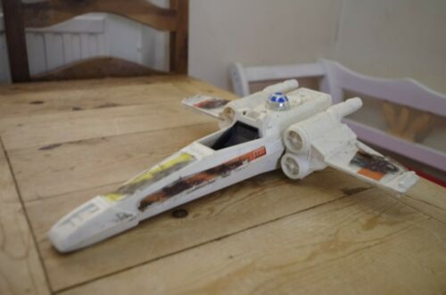 Spares or Repair Battle Damaged Vintage Star Wars Kenner X-Wing Fighter
