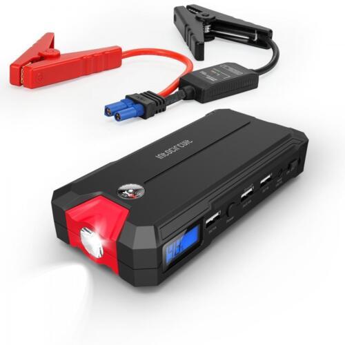 Portable Mini 10000mAh Car Jump Starter Engine 3 USBs Battery Charger Power Bank