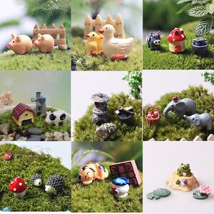 New 3st pflanzent pfe fee garten miniatur landschaft harz - Mini garten basteln ...